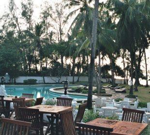 Pool und Außen-Terrasse Hotel Diani Sea Lodge