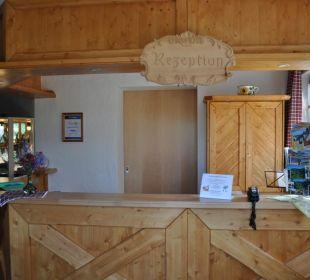 Unsere neue Rezeption Landhaus Wildschütz