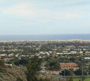 Vista sulla spiaggia, dalla camera  Hotel Mirador Maspalomas Dunas