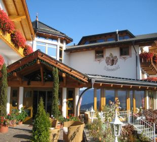 Der Lärchenhofeingang Hotel Lärchenhof