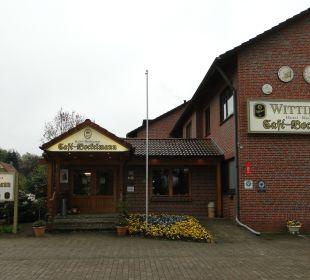 Haupteingang Hotel Bockelmann