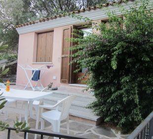 Die Terrasse Sardafit Ferienhaus Budoni