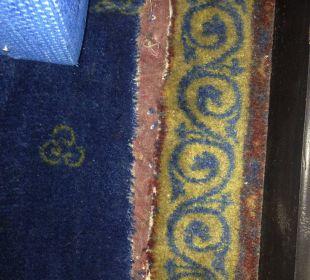 Teppich im 5 Sterne Hotel