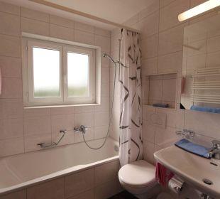 Badezimmer 3-Zimmerwohnung Ferienwohnungen Azur