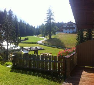 Aussicht Ferienhaus Kirchplatzl