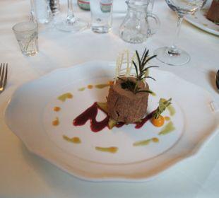 Noch ein leckeres Dessert Hotel Vier Jahreszeiten