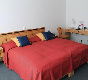 Ausschnitt vom Doppelzimmer 354 Hotel Laudinella
