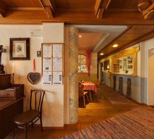 Empfang Biovita Hotel Alpi