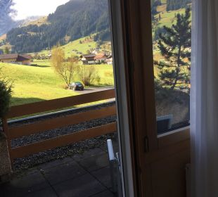 Ausblick  Hotel Alpina