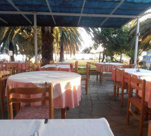 Zum Wohlfühlen mit Blick auf das Meer. Hotel Possidona Beach