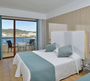 Twin room with sea view Intertur Hotel Hawaii Ibiza