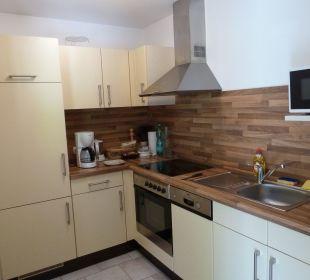 Moderne und gut eingerichtete Küche Gästehaus Martinsklause