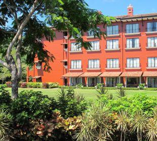 Blick auf das Hotel / Gartenansicht Hotel Los Suenos Marriott Ocean & Golf Resort