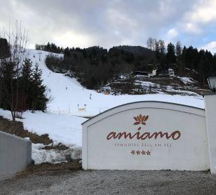 Direkte Pistenlage Familotel Amiamo