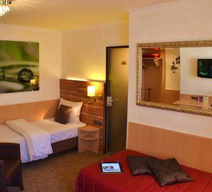 Komforteinzelzimmer City Hotel Ost am Kö Augsburg