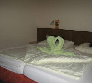 So schön werden die Zimmer hergerichtet Ferienhotel Martinerhof