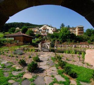 Blick aufs Mirabell vom Lustwandelgarten Silence & Schlosshotel Mirabell