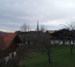 Blick vom Balkon Hotel Emer Hof