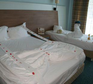 So sah es fast täglich aus Hotel Concorde De Luxe Resort