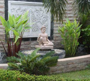 Zufahrt Thai Garden Resort