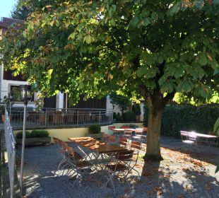 Kleiner Biergarten Landhotel Brandlhof