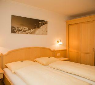 Schlaftimmer Appartement für 4 Personen Appartement Panorama
