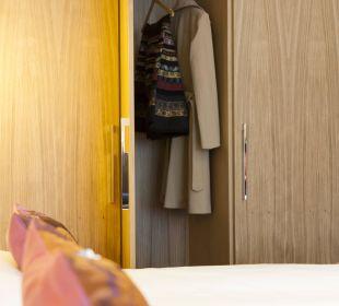 Viel Platz für Kleidung Das Capri.Ihr Wiener Hotel