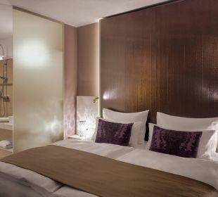 Junior Suite Schlafbereich Amedia Luxury Suites Graz