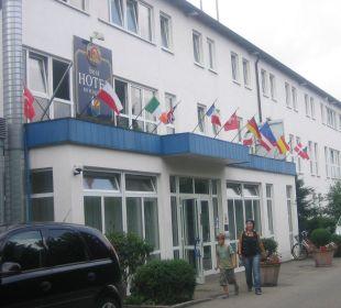 Das Hotel von außen Best Hotel Mindeltal
