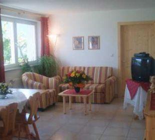 Landhauswohnung Sitzecke,  ausziehbarer Schlafcouc Appartement & Weingut Linter