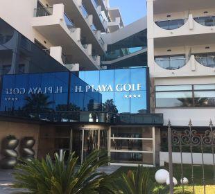 Eingangsbereich Hotel Playa Golf