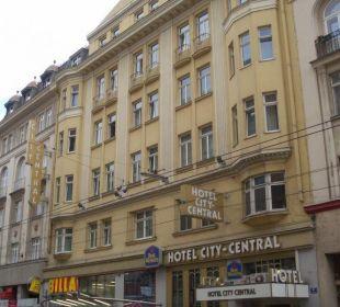 Hotel von außen Hotel City Central