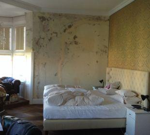 Bett mit Wandfläche .... Hotel Wiesler