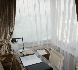 Schreibtisch, wir brauchten ihn nicht Hotel Harbour Grand Hong Kong