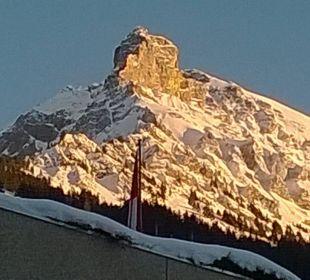 Bergsicht vom Hotel Alpina aus Hotel Alpina