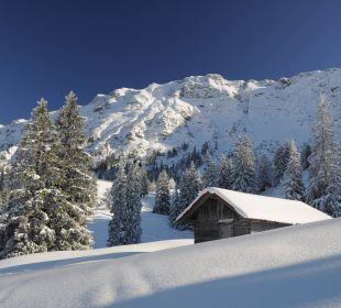 Winter am Iseler Hotel Garni Malerwinkl
