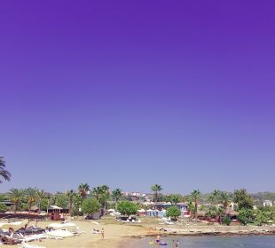 Ausblick Oz Hotels Incekum Beach