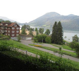Zufahrt zum Hotel Hotel Zentrum Ländli