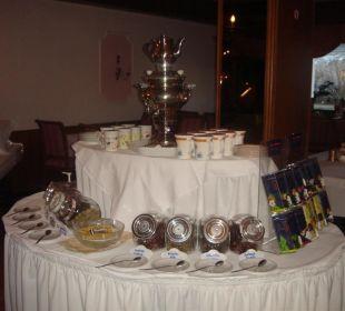 Tee-Sorten zum Frühstücksbuffet Hotel GasteigerHof