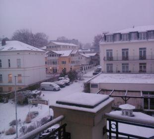 Blick vom Balkon SEETELHOTEL Ostseeresidenz Heringsdorf