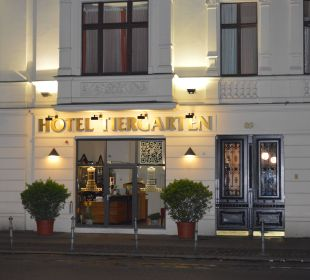 Eingang Hotel Tiergarten Berlin