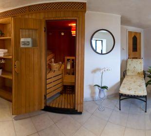 Sauna  reservierbar Appartement & Weingut Linter