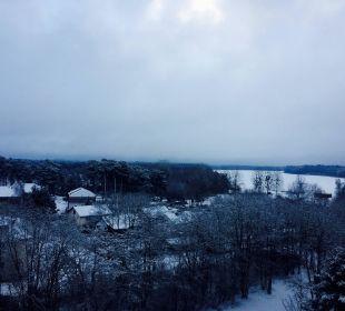 Toller Ausblick aus dem Panorama Zimmer AHORN Seehotel Templin