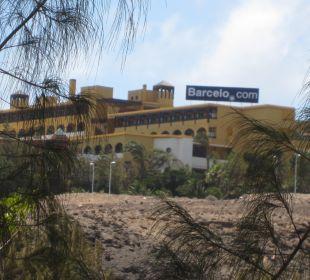 Außenansicht vom Iberostar Palace aus Hotel Barcelo Jandia Playa