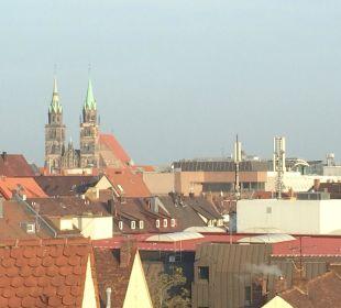 Lorenzkirche Nürnberg Hotel Holiday Inn Nürnberg City Centre