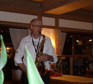 Chef Gustl war der große Entertainer am Silvesterabend WellVital Hotel Tyrol
