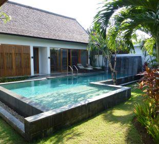 Der schöne große, eigene Pool The Samaya Bali - Seminyak