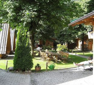 Adventure-Hütten Anlage feel free Adventure Camp