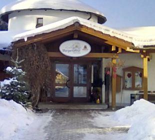 Eingangsbereich Hotel Margeritenhof