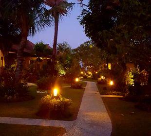 Gartenanlage COOEE Bali Reef Resort